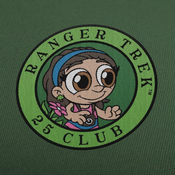 "Ranger Trek™ 25 Club 3.5"" Patch"