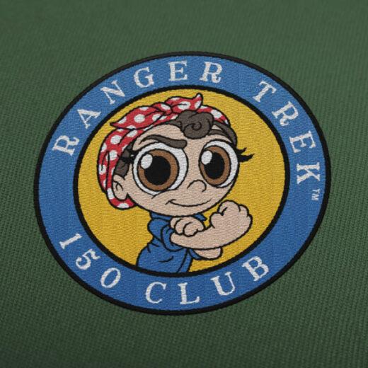 "Ranger Trek™ 150 Club 3.5"" Patch"