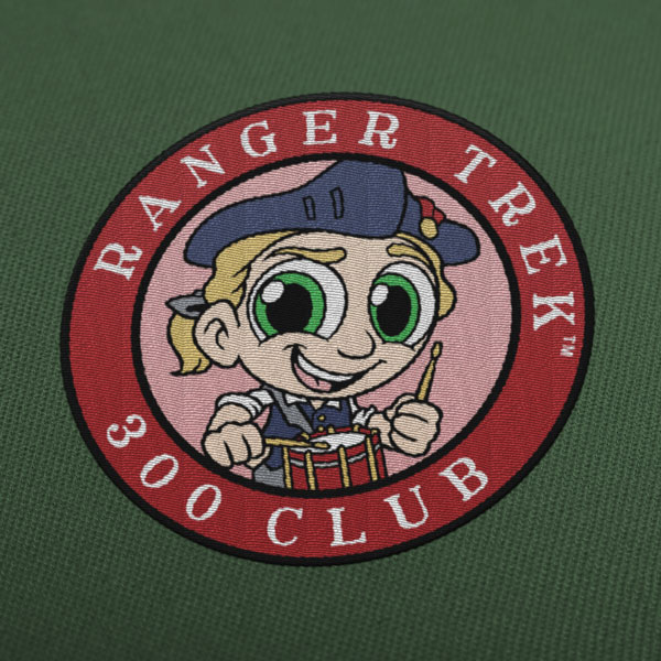 "Ranger Trek™ 300 Club 3.5"" Patch"