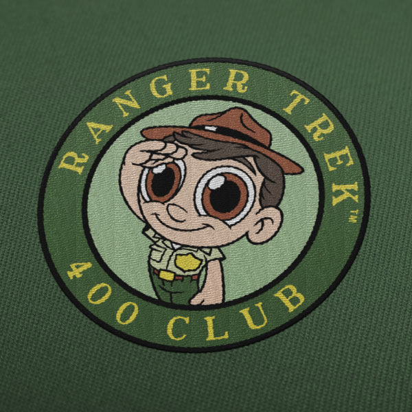 "Ranger Trek™ 400 Club 3.5"" Patch"