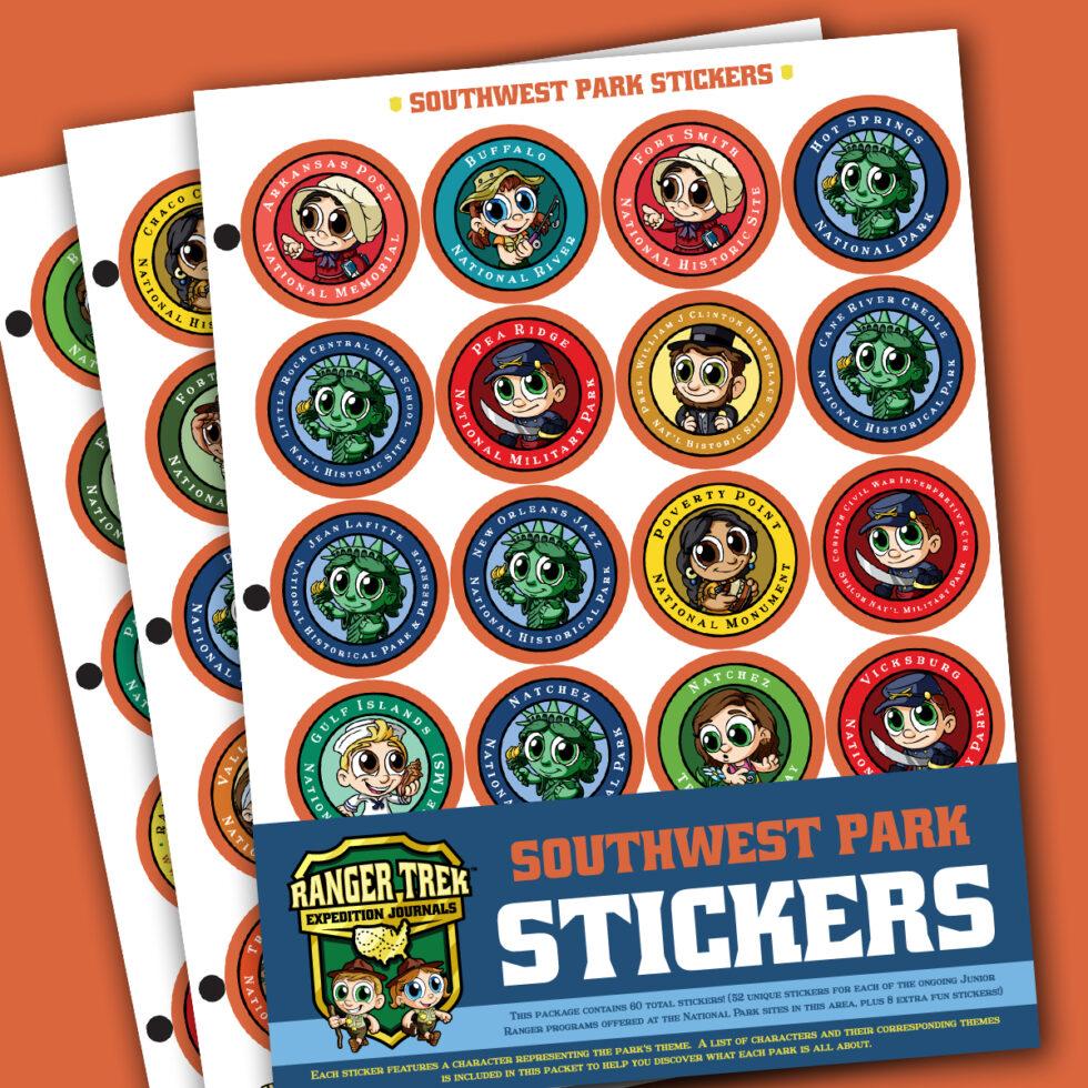 Ranger Trek™ Southwest State Park Stickers