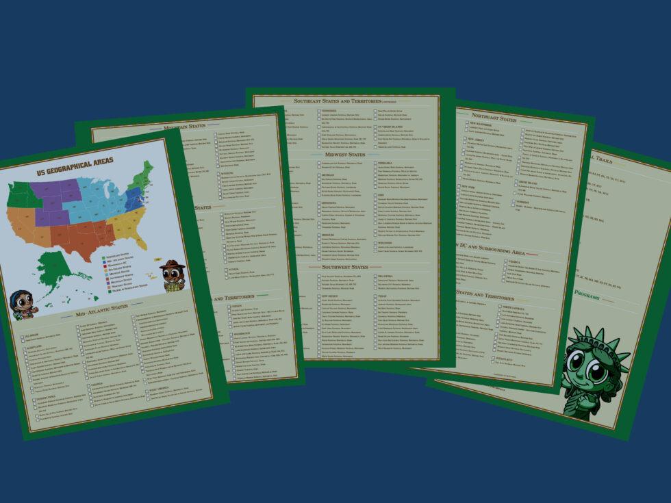 Ranger-Trek-Expedition-Journals-List-of-National-Parks-that-have-a-Junior-Ranger-Program-1