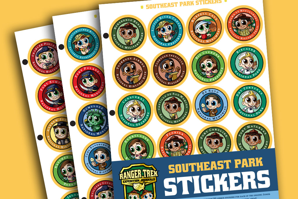 Ranger-Trek-Junior-Ranger-Program-Park-Stickers-to-Remember-Commemorate-your-Trips-and-Vacations-to-the-National-Parks